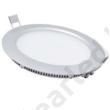 LED panel 12W kerek beépíthető 3000K fehér peremes
