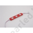 LED modul 12V DC 1,5W piros