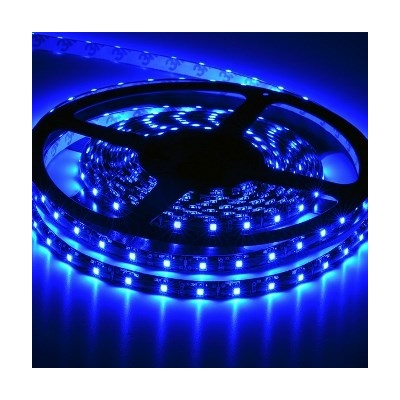 LED szalag beltéri IP20 SMD3528 120LED 9,6W/m kék