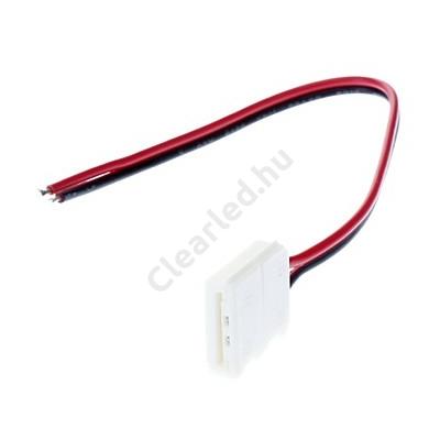 LEDszalag kiegészítő 5050, betáp csatlakozó 10mm