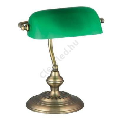 Rábalux 4038 Bank asztali lámpa, bronz