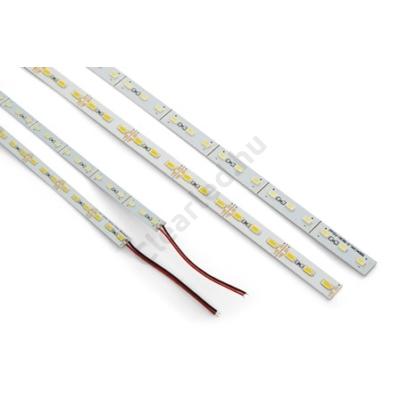 LED csík,merev beltéri IP20 SMD5630 72LED 22W/m meleg fehér 12mm
