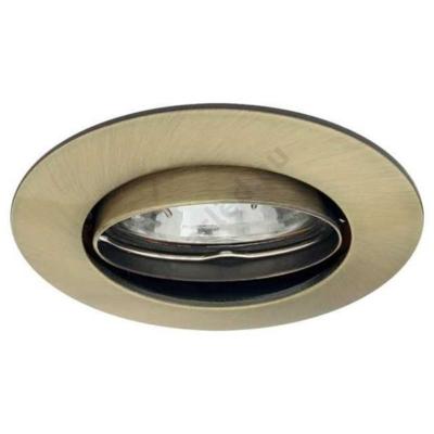 KANLUX 2594 LUTO CTX-DT02B-AB süllyesztett lámpatest, MR16, kerek, patinált réz