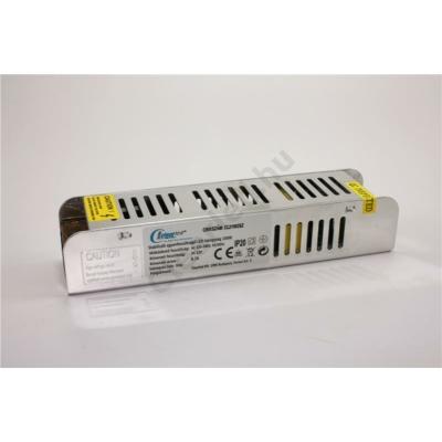 LED tápegység 12V DC IP20 100W szerelhető fémházas slim