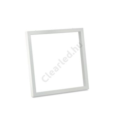 LED panel mennyezeti rögzítő keret, fehér 600X600-as