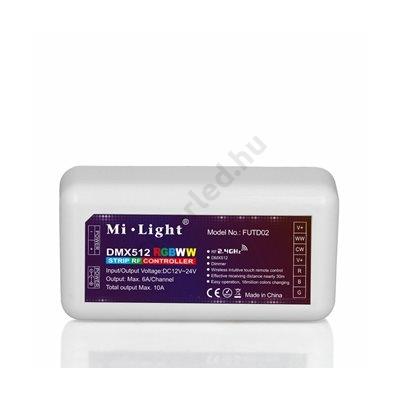 DMX 512 RGB+CCT zóna vezérlő
