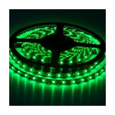 LED szalag beltéri IP20 SMD3528 120LED 9,6W/m zöld