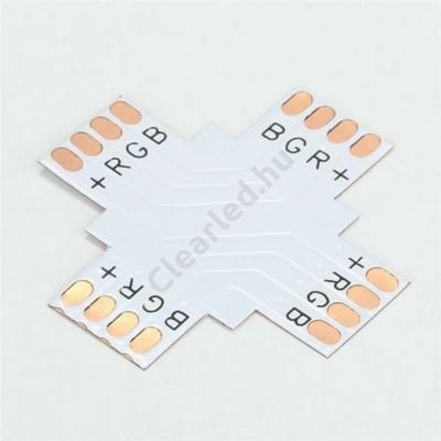 LED szalag kiegészítő RGB, PCB elosztó