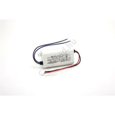 Mean Well APV-16-12 LED tápegység 15W műanyagházas
