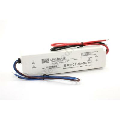 Mean Well LPV-100-12 LED tápegység 100W műanyagházas