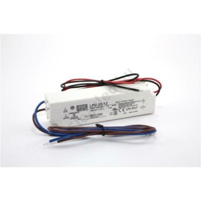 Mean Well LPV-35-12 LED tápegység 36W műanyagházas