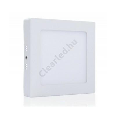 LED panel 6W négyzetes,falonkívüli 2800K fehér peremes