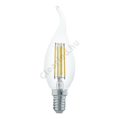EGLO 11497 E14 4W szélfútta filament gyertya 2700K