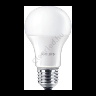 PHILIPS LED normál E27 8W 60W 2700K 2év