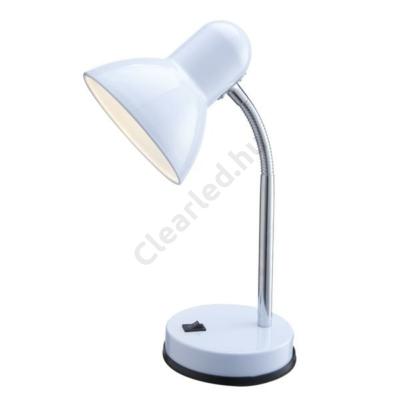 GLOBO 2485 BASIC asztali lámpa fehér, króm, E27