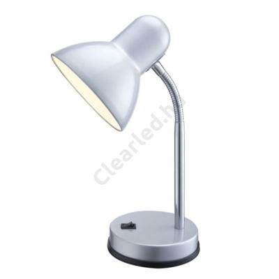 GLOBO 2487 BASIC asztali lámpa, ezüst, E27