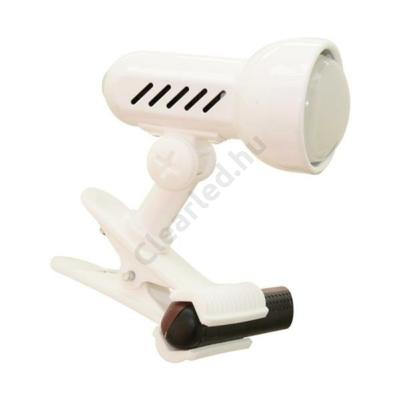 LUXERA 20021 METRO csiptethető lámpa fehér E14