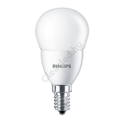 PHILIPS LED kisgömb matt E14 4W 25W 2700K