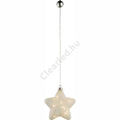 GLOBO 23234 csillag függeszték, karácsonyi dekoráció