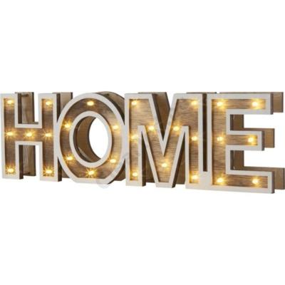 GLOBO 29975 HOME asztali lámpa fa, akril