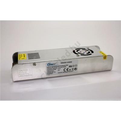 LED tápegység 12V DC IP20 360W szerelhető fémházas slim
