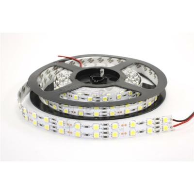 LED szalag beltéri IP20 SMD5050 120LED 28,8W/m hideg fehér dupla széles