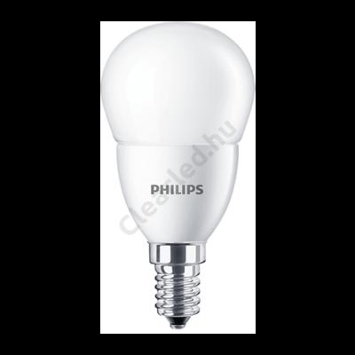 PHILIPS LED kisgömb matt E14 5,5W 40W 4000K
