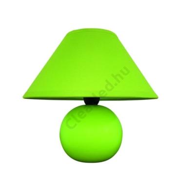 Rábalux 4907 Ariel kerámia, asztali, zöld
