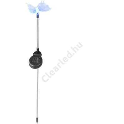 GLOBO 33943 SOLAR leszúrható színváltós műanyag pillangó
