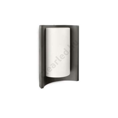 PHILIPS 16404/93/16 MEANDER kültéri fali lámpa, antracit,1x20W