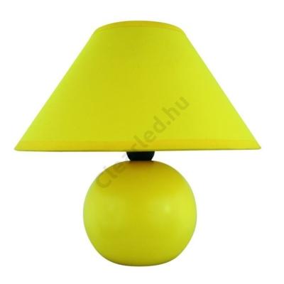 Rábalux 4905 Ariel kerámia, asztali, sárga
