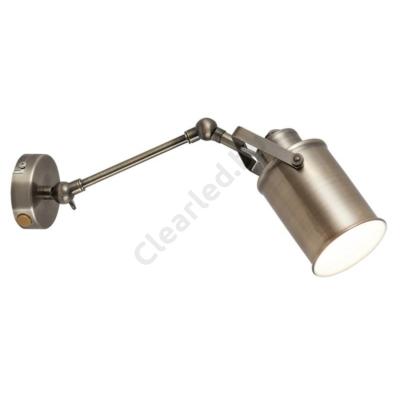 Rábalux 5987 Peter fali lámpa E27 antik bronz