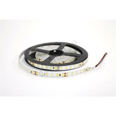LED szalag 24V beltéri IP20 SMD2835 120LED 10,8W/m meleg fehér
