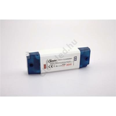 LED tápegység 24V DC IP20 36W műanyagházas