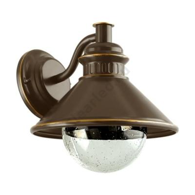 EGLO 96262 Albacete kültéri fali lámpa E27 barna/vörösréz
