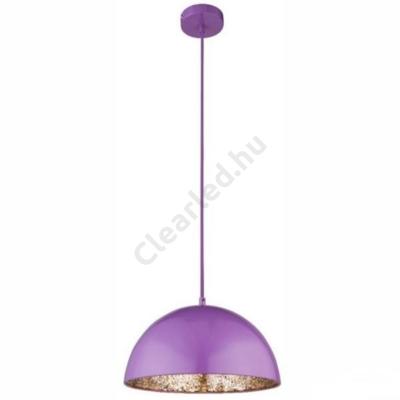 GLOBO 15166L OKKO függeszték, lila