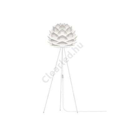 VITA 02007 SILVIA fehér lámpabúra + VITA 04015 fehér TRIPOD állólámpa összeállítás