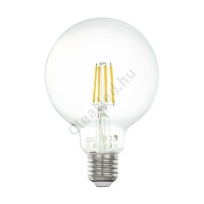 EGLO 11503 E27 G95 6W filament nagygömb meleg fehér