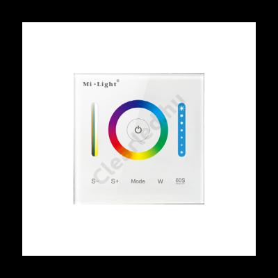 Fali RGB+CCT vezérlő 1 zónás 12-24V 15A (P3)