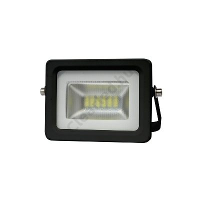 LED reflektor 230V 10W fekete SMD 5730 4000K