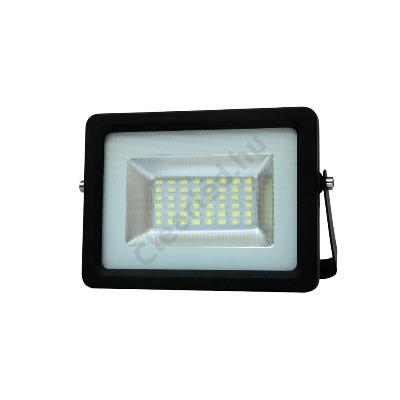 LED reflektor 230V 20W fekete SMD 5730 4000K