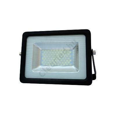 LED reflektor 230V 30W fekete SMD 5730 4000K