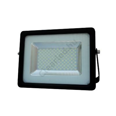 LED reflektor 230V 50W fekete SMD 5730 4000K