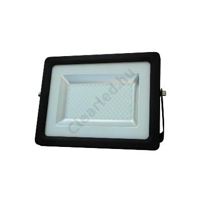 LED reflektor 230V 100W fekete SMD 5730 4000K