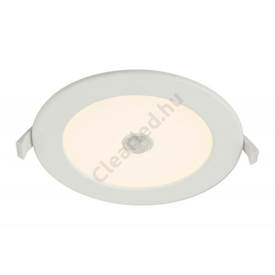 GLOBO 12391-12s UNELLA beépíthető mozgásérzékelős LED panel, kerek, meleg fehér, 12W