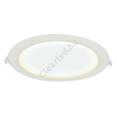 GLOBO 12395-24 POLLY beépíthető LED panel, kerek, 24W, meleg fehér, IP65