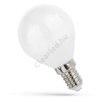 Spectrum LED WOJ14073 filament matt kisgömb E14 4W WW