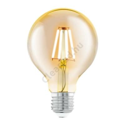 EGLO 11556 4W G80 filament dekor gömb meleg fehér 2200K