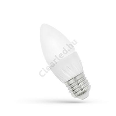 Spectrum LED WOJ13061 gyertya E27 6W WW