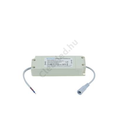 OPT AC6024 LED tápegység 30-42Vdc 1100-1200mA IP20 48W dimmelhető
